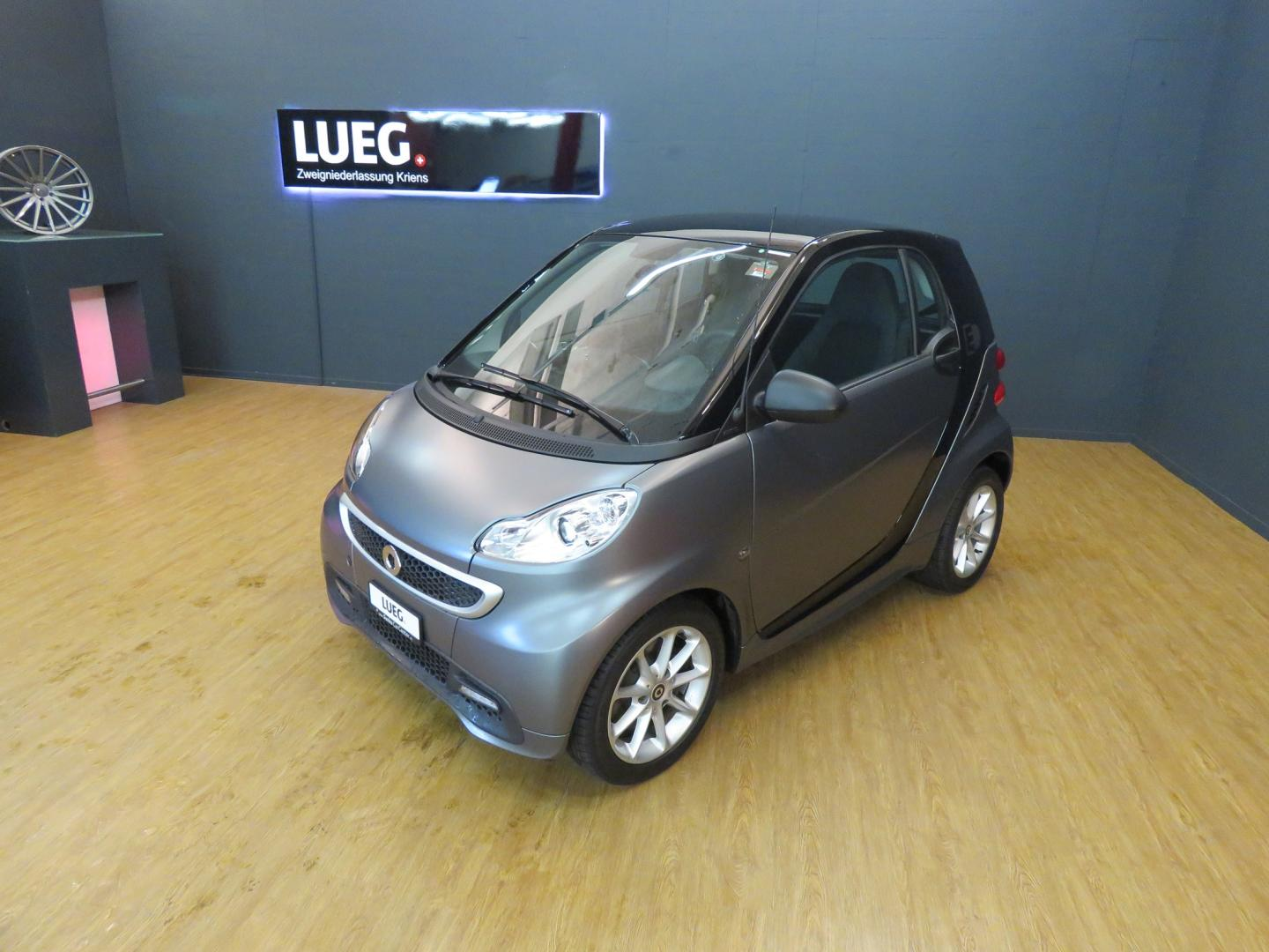 fortwo electric drive (ohne/sans Battery)